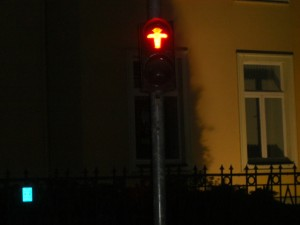 the little lamp man of the old East German crossing signal