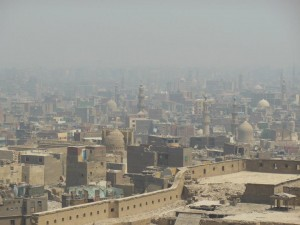 View from the Cairo Citadel