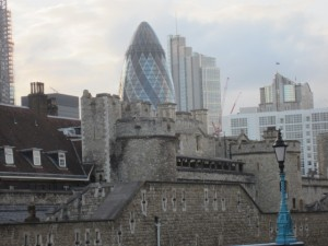 Tower and Gherkin