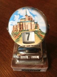 perpetual calendar Mt. St. Michel