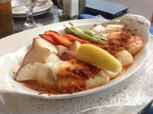 NE Baked Seafood Dinner