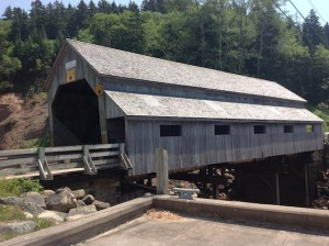 covered bridge in St. Martins