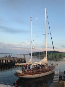 sailing around Lunenburg