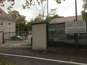 MP Parking only Ledward Barracks