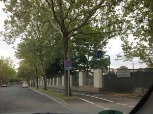 backgate road Ledward Barracks