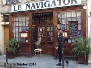 Le Navigator, Paris