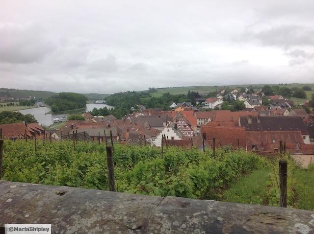 Franconian village, Wipfeld