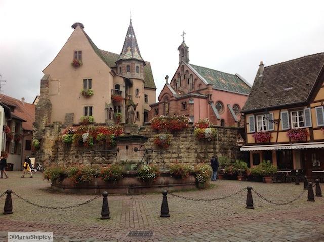 Eguisheim market square