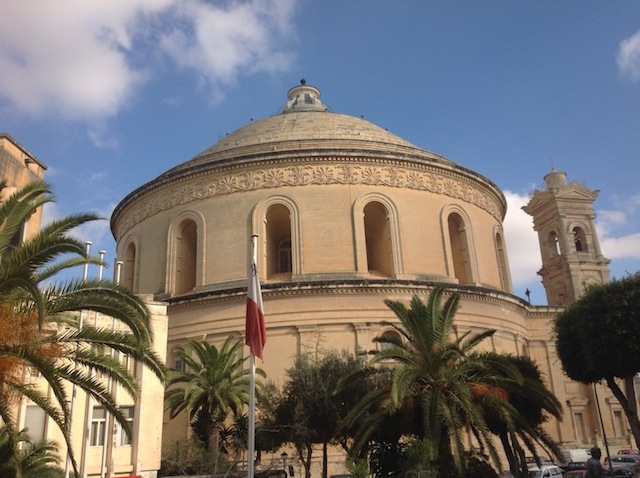 Dome in Mosta, Malta