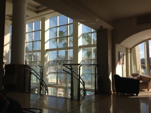 Cavalieri Art Hotel lobby