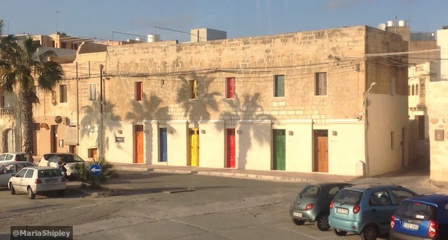 Colored doors in Marsaxlok