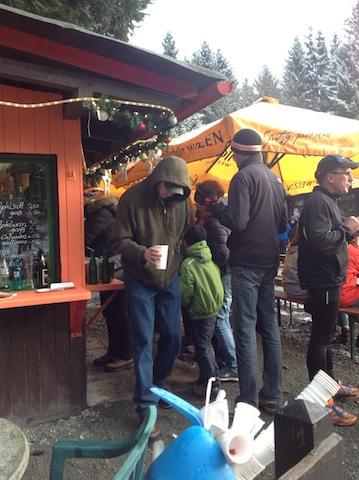 Glühwein vendor