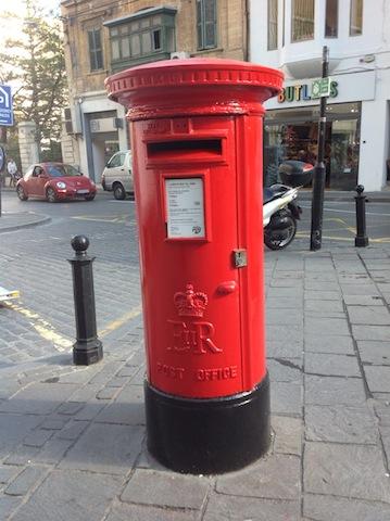 Malta mailbox