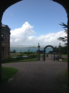 Bantry House gate