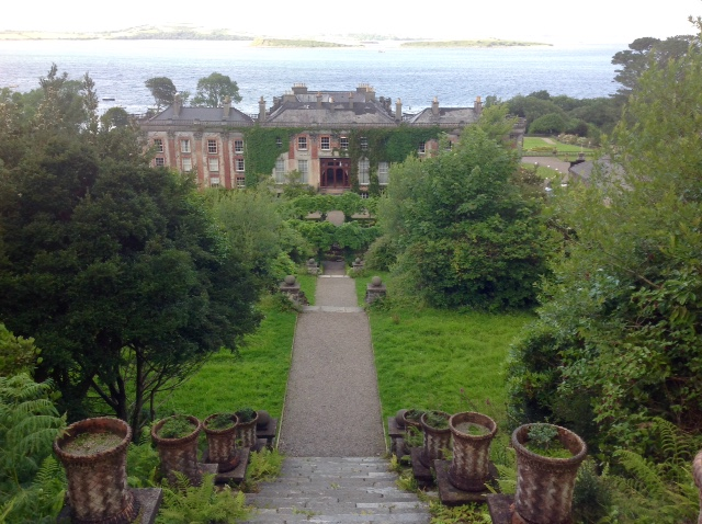 Bantry House steps