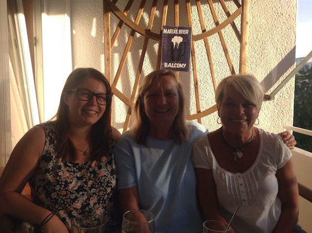 Beer Balcony with Rita & Lisa