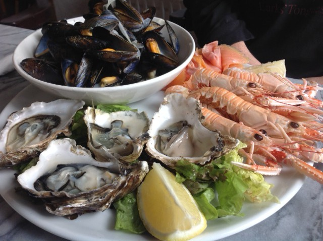 Seafood platter in Baltimore, Ireland