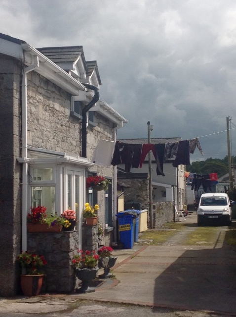 Laundry day in Foynes
