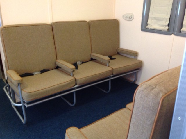 Seats on the Yankee Clipper