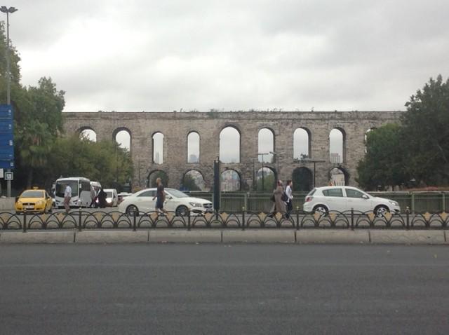 Aquaduct in Istanbul