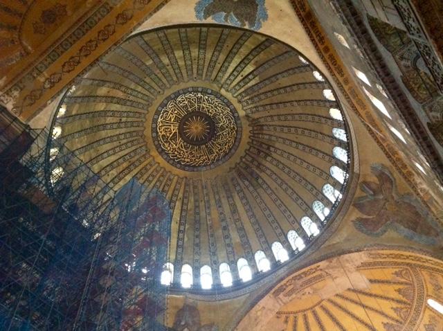 Hagia Sophia ceiling-2