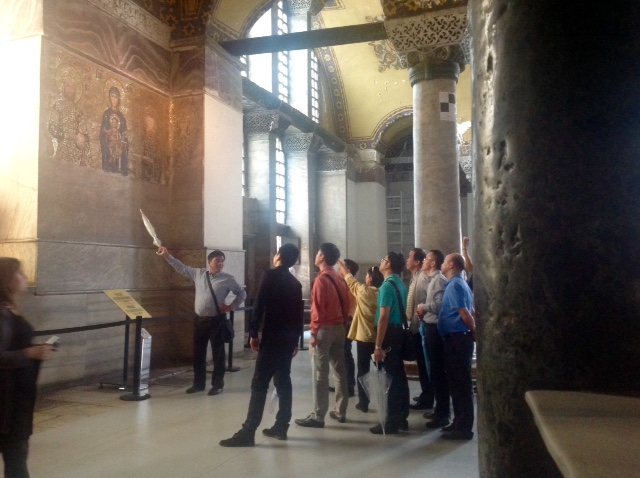 Hagia Sophia - tour guide