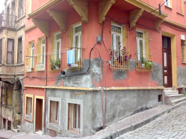 Istanbul-Greek quarter corner house