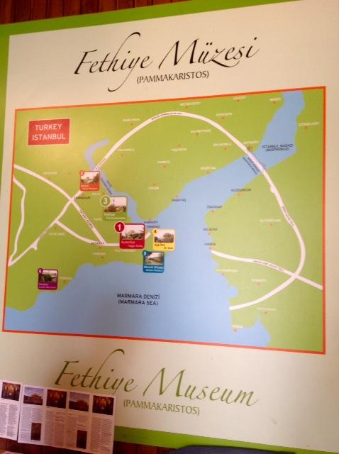 Fethiye Müzesi map