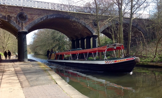 Boat on Regent's Canal
