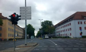 Intersection Ledward Barracks Schweinfurt