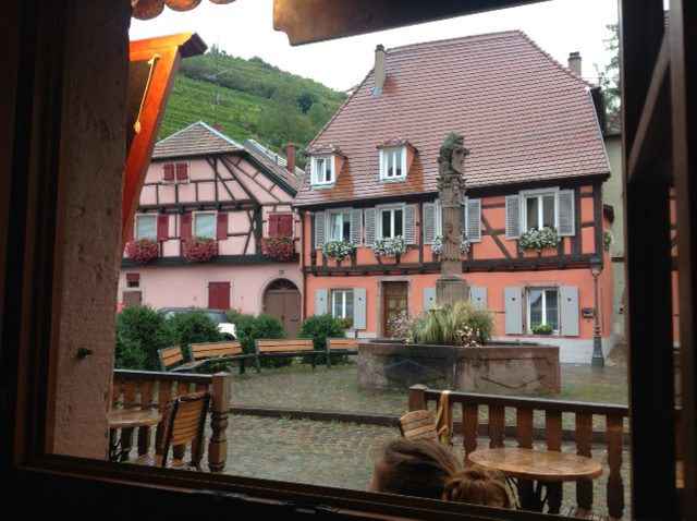 Sitting in St.Ulrich, Ribeauvillé